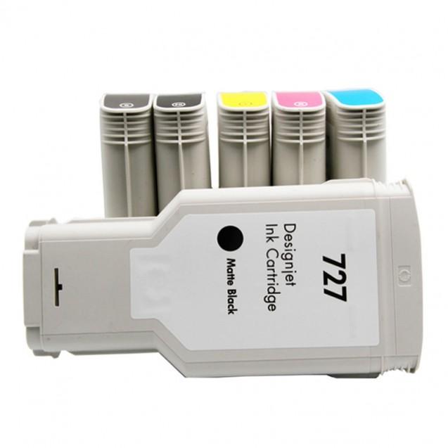 Compatible HP727 Ink Cartridge 130ml for DesignJet T920 T1500 T2500 T930 T1530 T2530